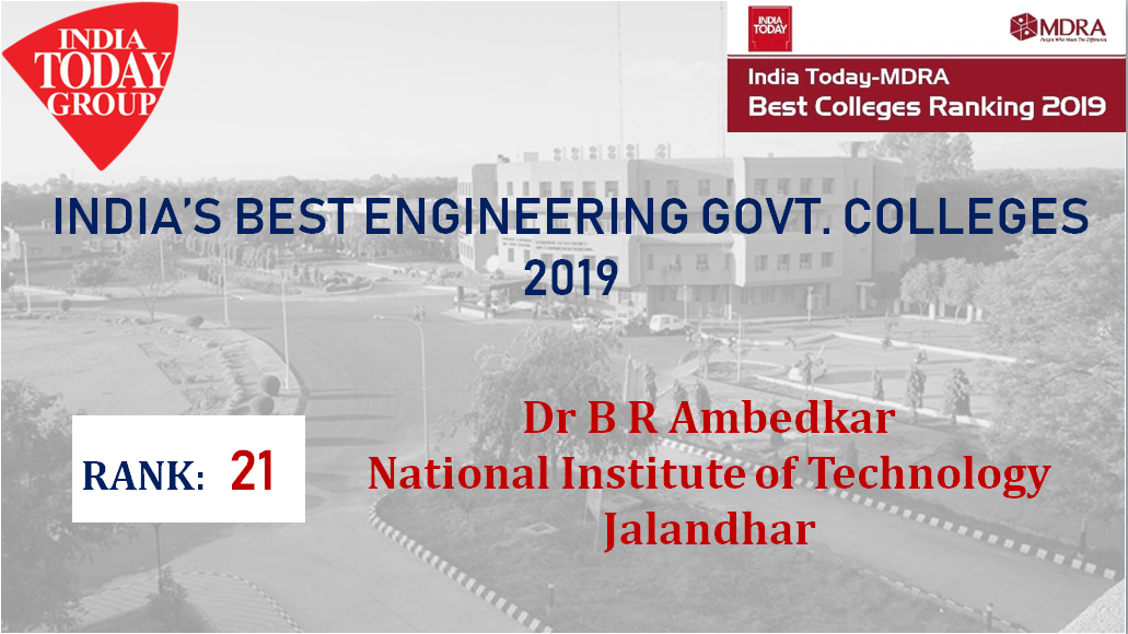 Dr B R Ambedkar National Institute of Technology, Jalandhar